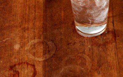 How to Remove White Water Stains on your Wooden Furniture