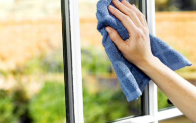 How to clean glass windows